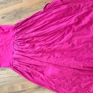 Theory One Size Fits All Pink Sundress
